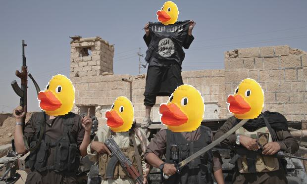 5 People Are Trolling The Shit Out Of ISIS Using Rubber Ducks