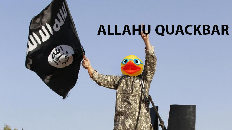 91 People Are Trolling The Shit Out Of ISIS Using Rubber Ducks