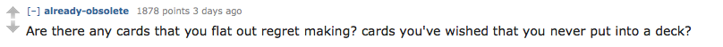 Screen Shot 2015 11 22 at 20.49.23 Cards Against Humanity AMA Delivers Hilarious Suggestions For New Cards