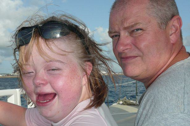 Hero Dad Gave Up High Flying Job To Spend Every Day With Sick Daughter Silk1