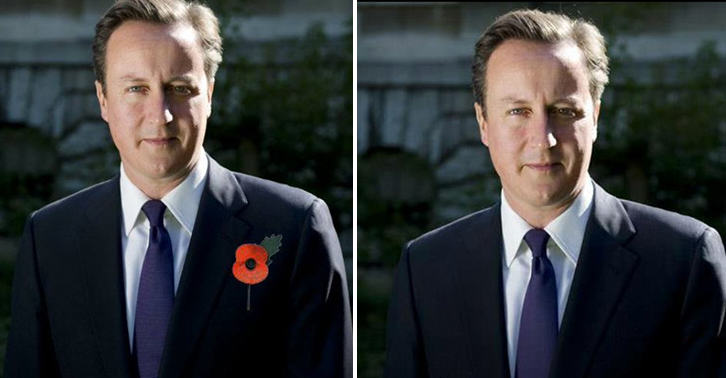 UNILAD FaceThumb77543 No 10 Photoshop Poppy Onto Photo Of David Cameron, Internet Reacts Brilliantly