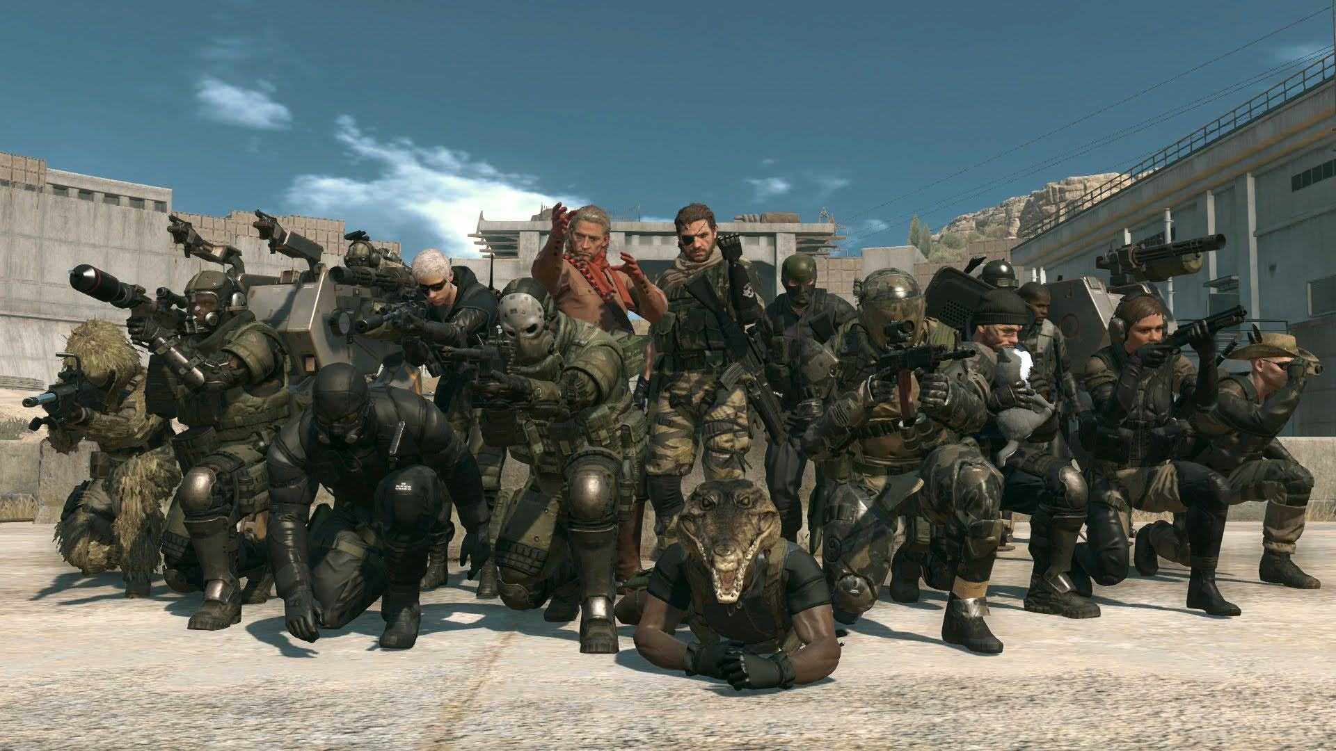 UNILAD MGO free gifts110378 Studio Responsible For Metal Gear Online Has Been Closed By Konami