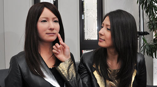 UNILAD Osaka University and Kokoro Ltd30544 People Mistake Robot For Real Woman, And Think Shes Sexy