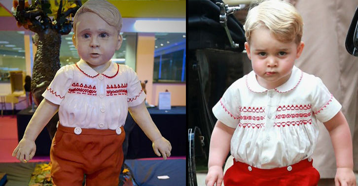 UNILAD cake500840770 Amateur Baker Makes Uncomfortably Realistic Prince George Cake In Competition