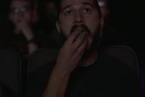 UNILAD shia eating 500x33377613 Shia Labeouf Is Livestreaming Shia Labeouf Watching Shia Labeouf Films