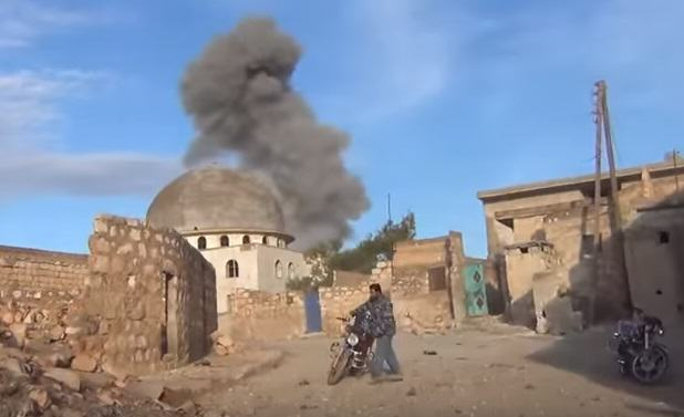 Horrific Footage Shows What Russian Bombs Are Doing To Syrian Villages UNILAD syria 52625