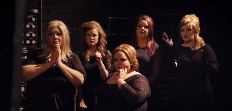 adele 1 Adele Disguises Herself As An Adele Impersonator, Fellow Adele Impersonators Freak Out