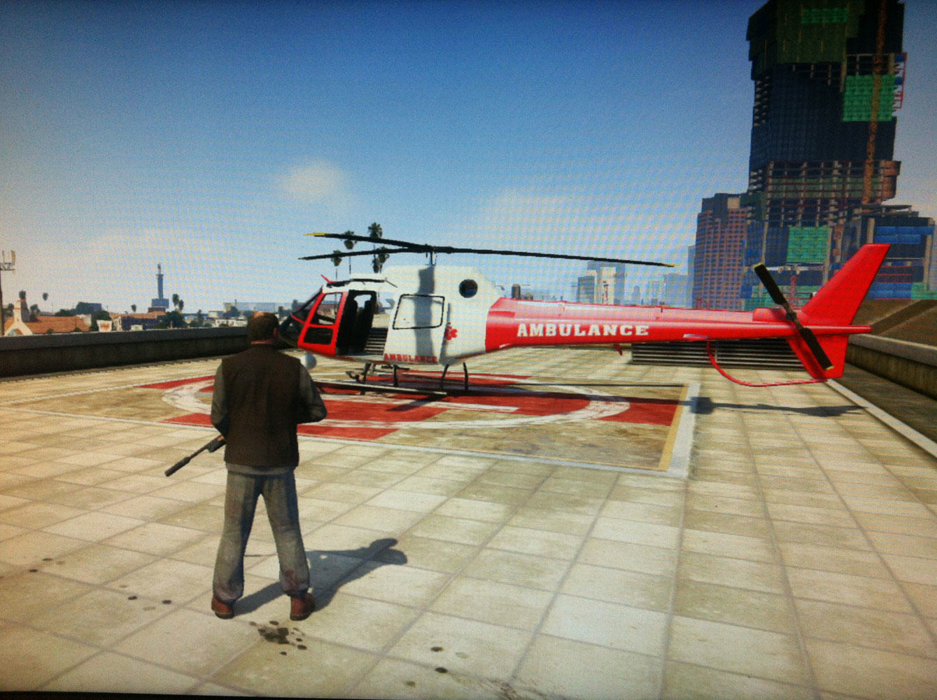 gta v helicopter location 4 Police Hunt For Bad Santa Who Stole Helicopter