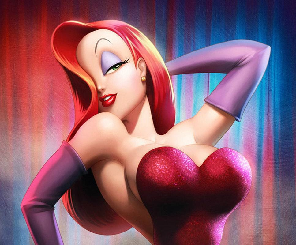 Beauty Blogger Reveals Why She Had Six Ribs Removed jessica rabbit 967x800