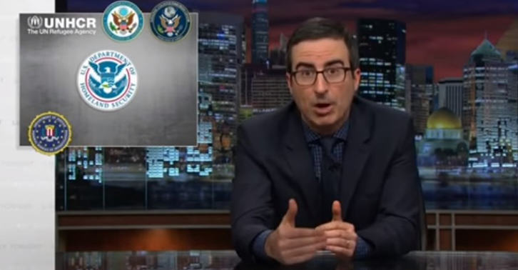 john oliver refugees FB John Oliver Brilliantly Takes Down Hypocrisy Of Syrian Refugee Fearmongering
