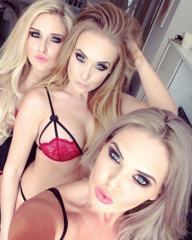 sisters selfie 2 These Sisters Used Their Selfies And Social Media To Rinse Men Of £75,000 Of Gifts