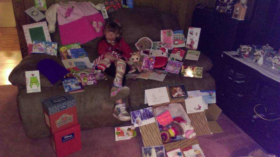 12360022 938617196207167 2551330732622443942 n Brave Little Girl Who Lost Family In Arson Attack Gets Her Christmas Wish