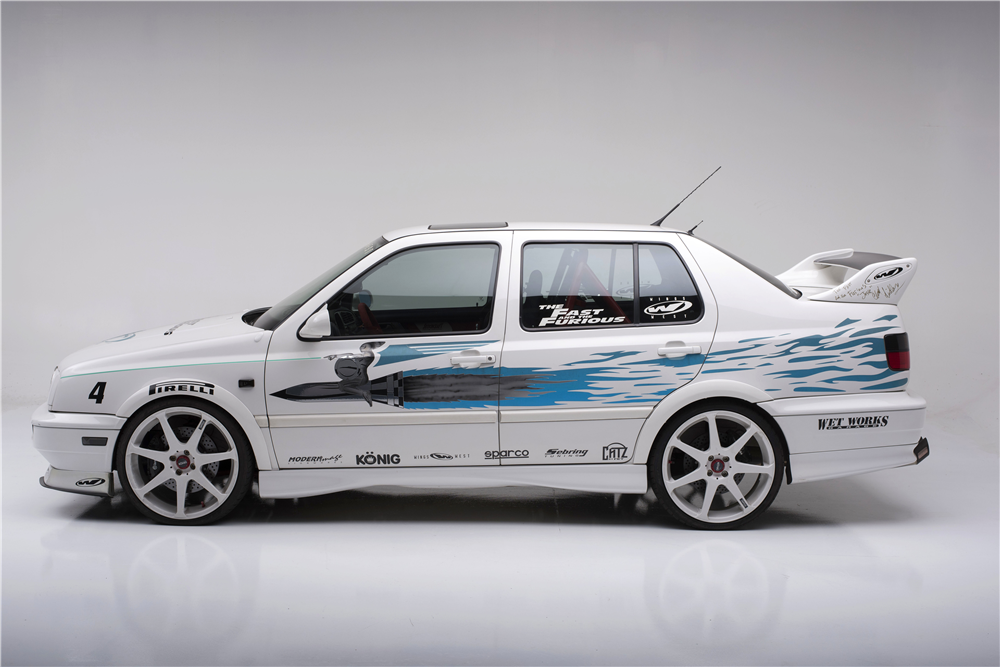 189640 Side Profile Web Jesses Paul Walker Signed Jetta From Fast And Furious Up For Auction