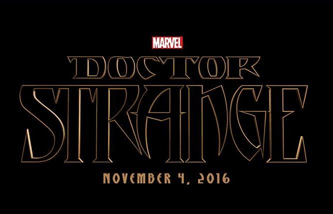 Doctor Strange Logo Marvel Reveal First Images Of Benedict Cumberbatch As Doctor Strange