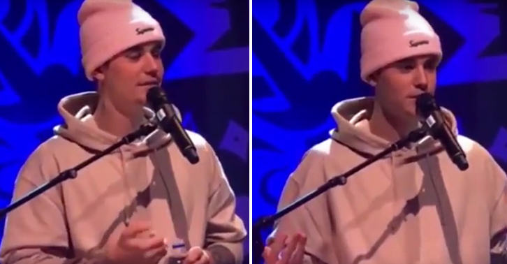 FaceThumb 10 Watch Justin Bieber Make A Really Creepy Joke To Some 14 Year Old Girls