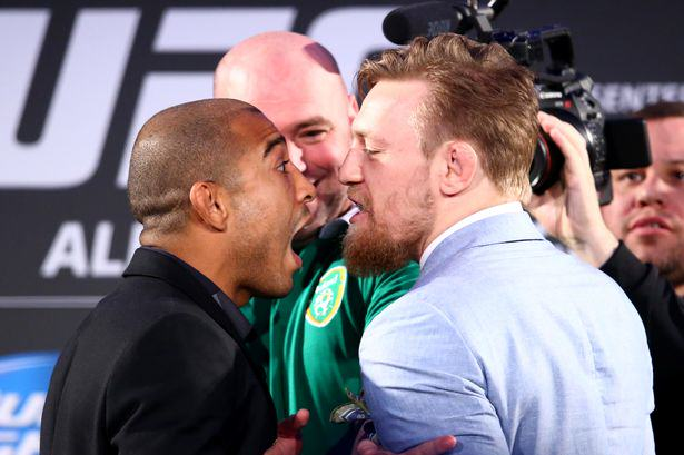 INPHOCathal Noonan Drunk Irish UFC Fans Force Plane To Turn Around After Fight Breaks Out