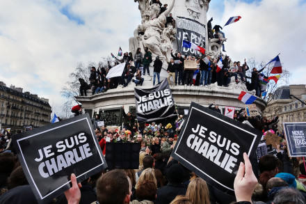 Je suis Charlie Paris 11 January 2015 3 440x293 When Social Media Is A Force For Good