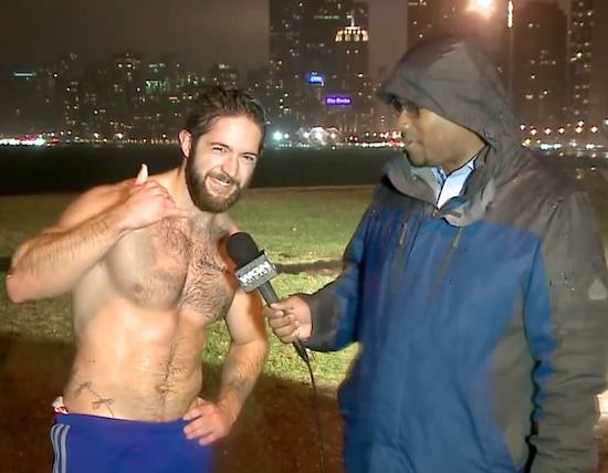 Jogger Guy Running In Rain With No Shirt On Breaks The Internet