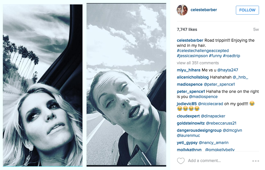 Screen Shot 2015 12 14 at 12.26.49 1 Australian Comedian Back With More Hilarious Instagram Photos Mocking Celebrities