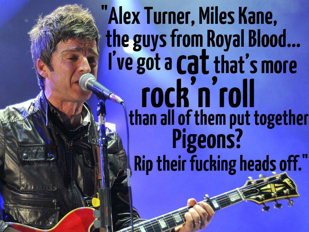 alex turner 1 These Brilliant Quotes Prove Noel Gallagher Is The Funniest Rock Star Alive