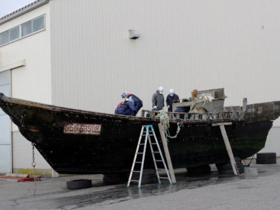 ghostboat1 Four Bodies Discovered On North Korean Ghost Ship