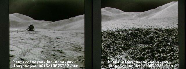 inconsistent backgrounds01 Eight Reasons People Are Convinced The Moon Landings Were A Hoax