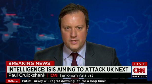 isis Terrorism Analyst Says UK Could Be Next Target For Paris Style Attack