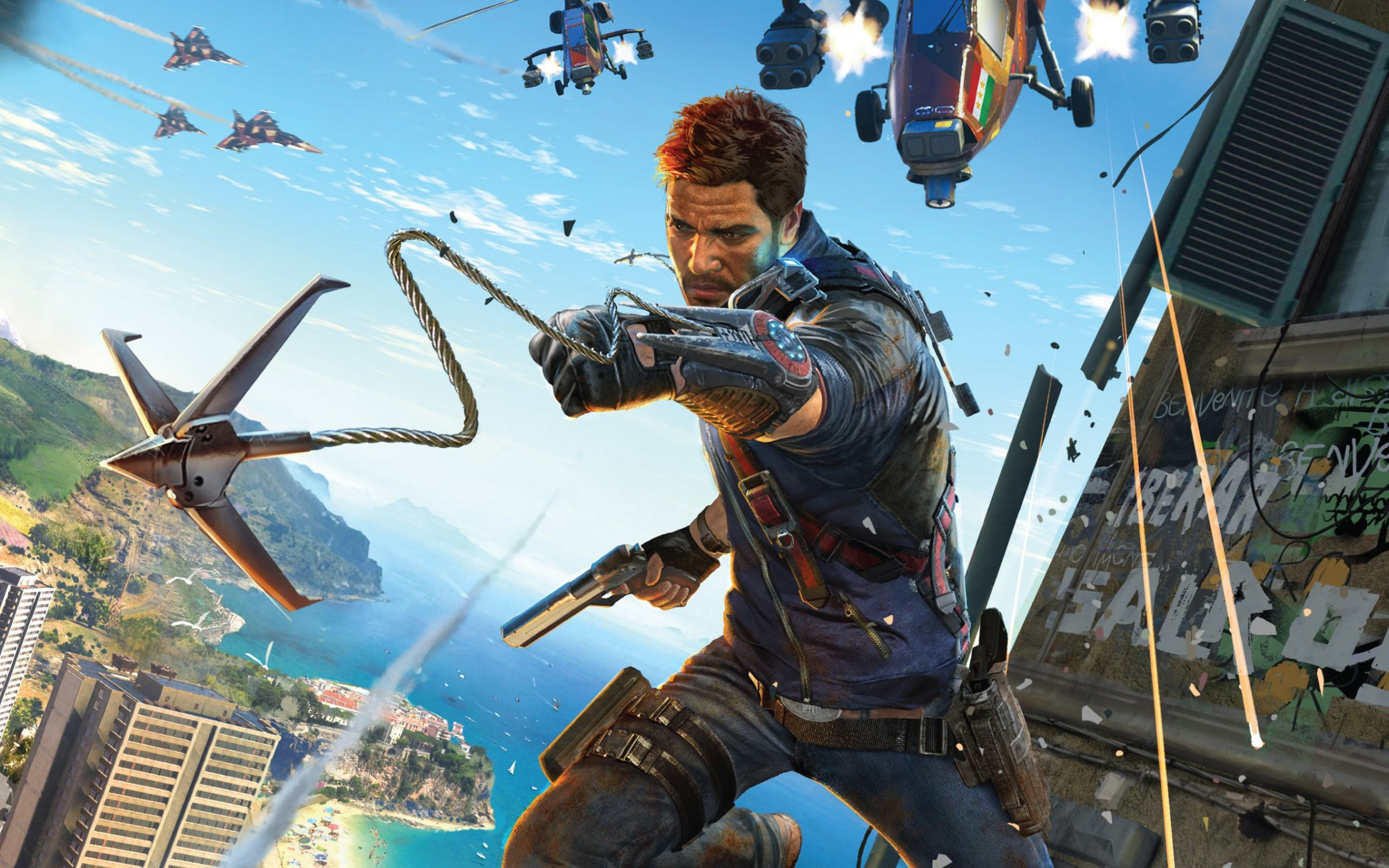just cause 3 2560x1600 Just Cause 3 Has Plenty Of Style, But Ultimately Not Enough Substance