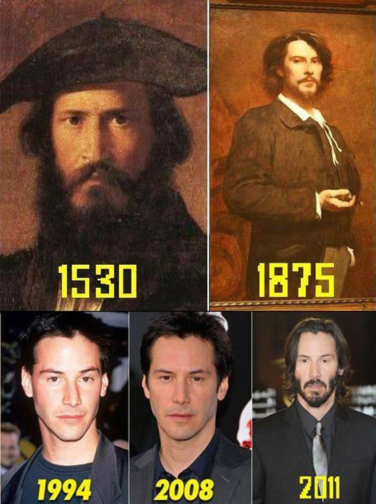 keanu reeves These Pictures Show Putin Isnt The Only Immortal Famous Guy