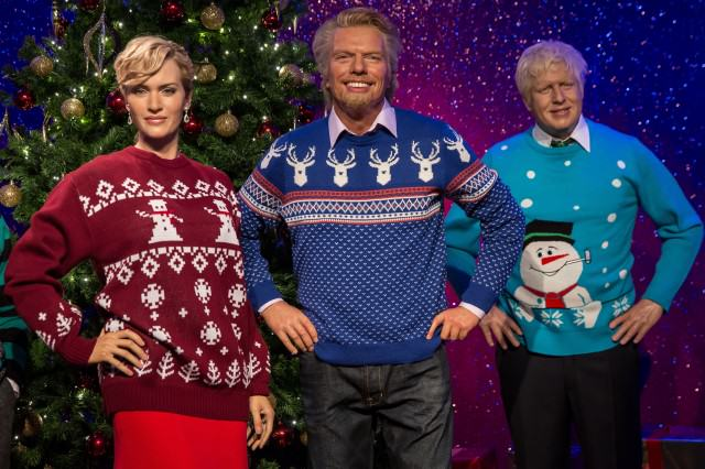 richard branson waxwork christmas jumper 640x426 These Are The Things That Everyone Hates About Christmas