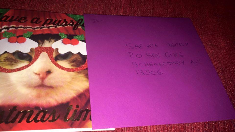 Girl Who Lost Family In Arson Attack Just Wants Cards For Christmas saf12