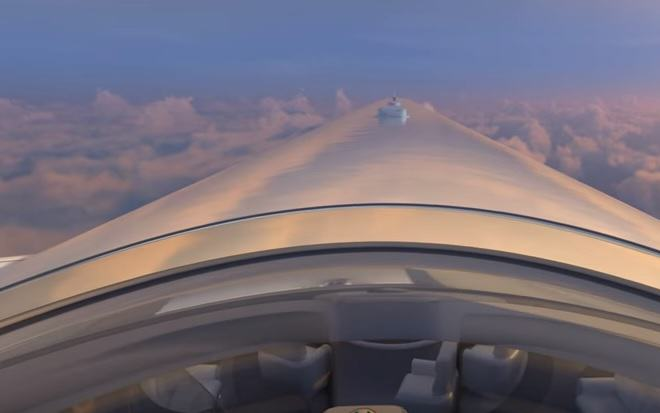 sky deck 4 1 New First Class For The Ultra Rich Looks Amazingly Futuristic
