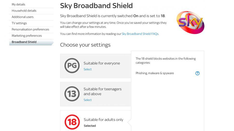 sky broadband shield 970 80 Sky Broadband To Start Blocking Porn Early Next Year