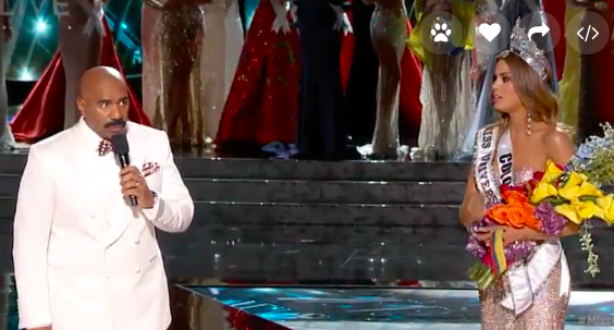 The Internet Reacts Brilliantly To The Epic Miss Universe F*ck Up steve harvey miss universe