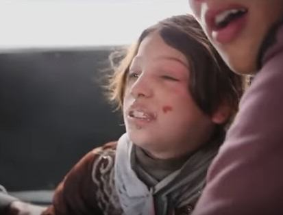 syria 1 Syrian Girl Hit By Airstrike Thanks Rescuers In Heart Wrenching Video