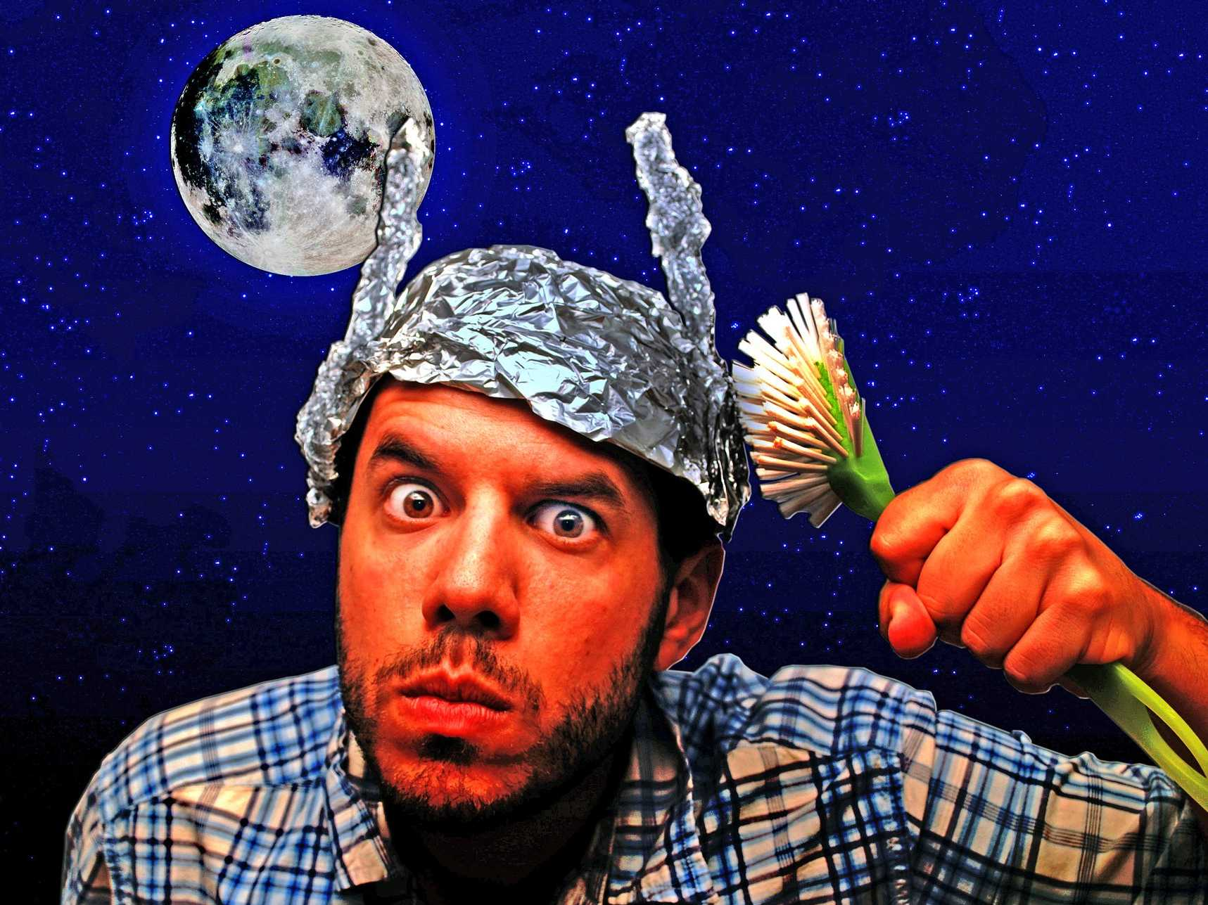 the true origin of the tin foil hat and why its the stupidest thing to wear if youre paranoid about the government Video Footage Shows Stanley Kubrick Admitting He Faked Moon Landings