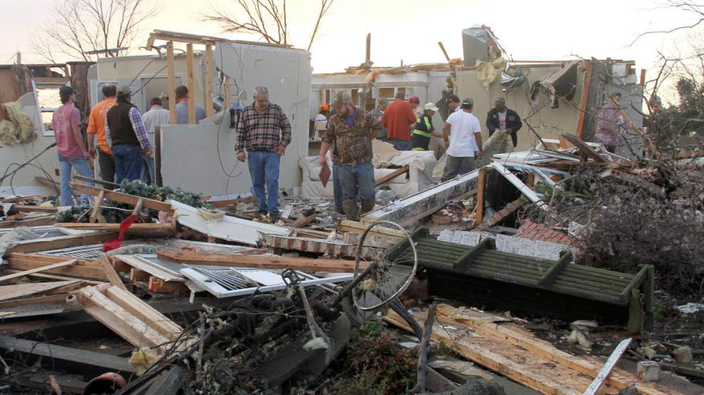 torn Tornadoes Cause Havoc In USA, Kill At Least 14 People