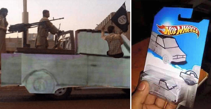 truck funny FB Woman Drew Stolen Truck And Asked Internet To Find It, Guess What Happened Next