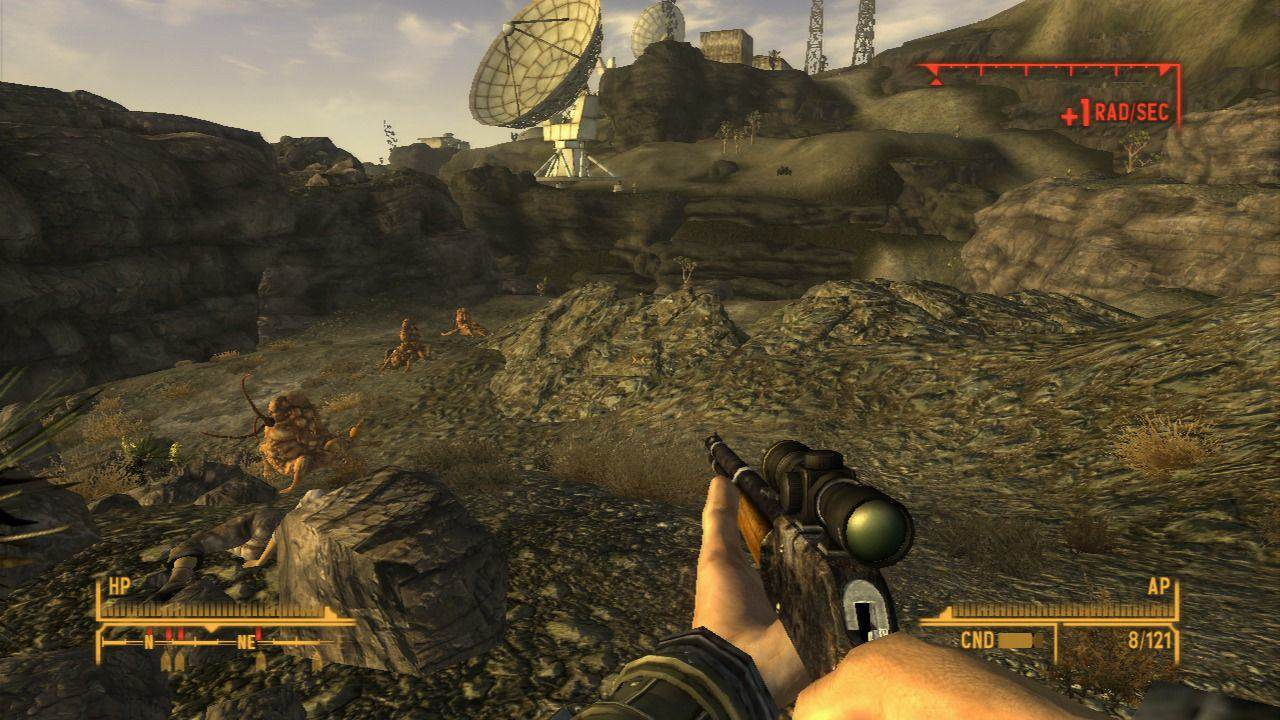 558576 fallout new vegas playstation 3 screenshot watch out for centaurs Multiplayer Fallout May Finally Be A Reality Thanks To New Vegas Mod
