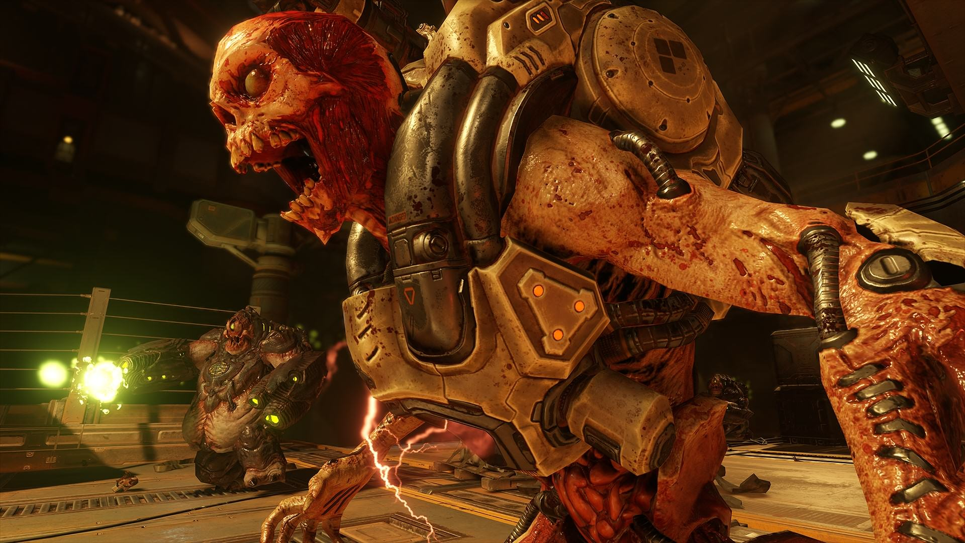 DOOM 2016 Rev Mancubus 1437988261 DOOM Higher Difficulty And Non Linear Exploration Confirmed
