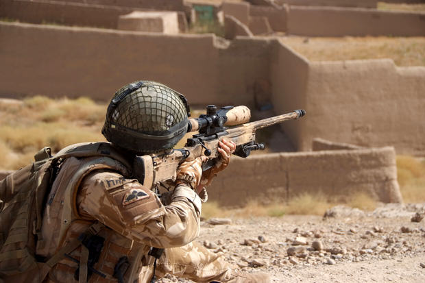 British Sniper Investigated For Not Warning Insurgent Before He Shot Him HQTFH 2008 274 Output 015