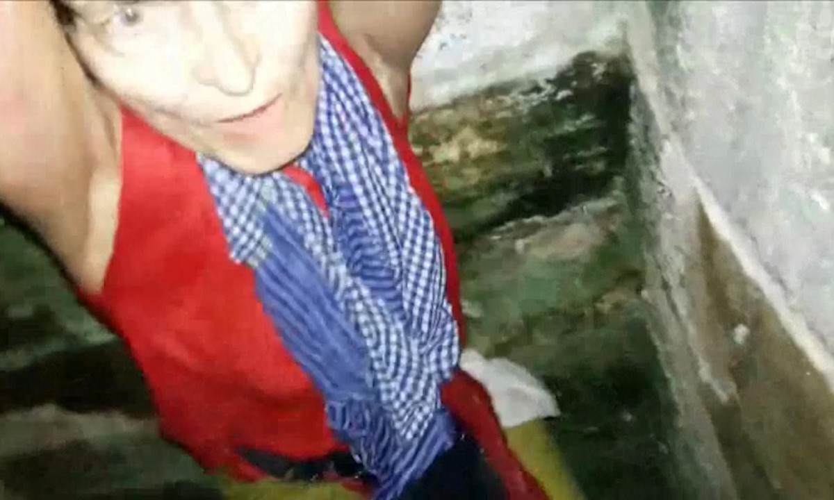 Dramatic Footage Shows Woman Rescued After Falling Down Well Taking Selfie KP 1520741 crop 1200x720