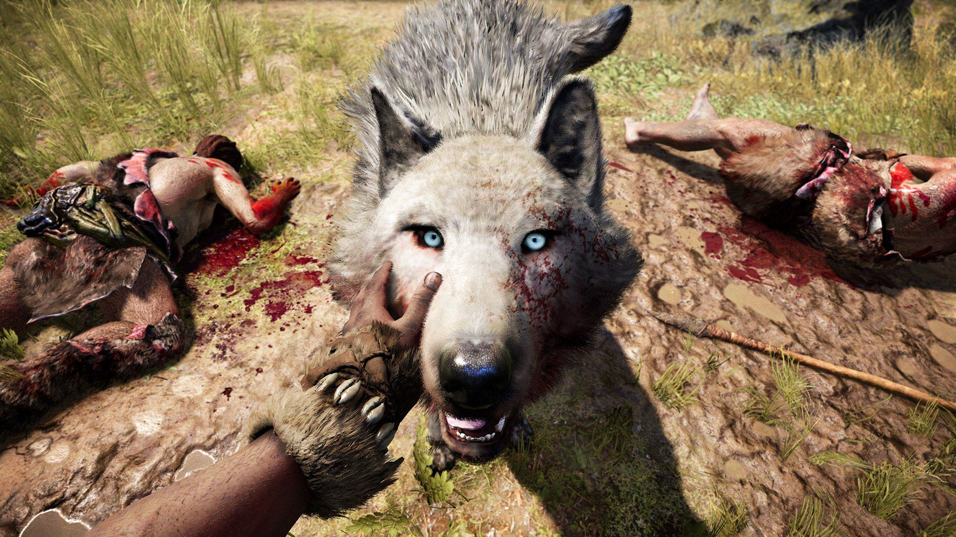 Pet Wolf GOLD 1080p 1449171017.0 An Exclusive Look At Far Cry Primal Ahead Of Release Day