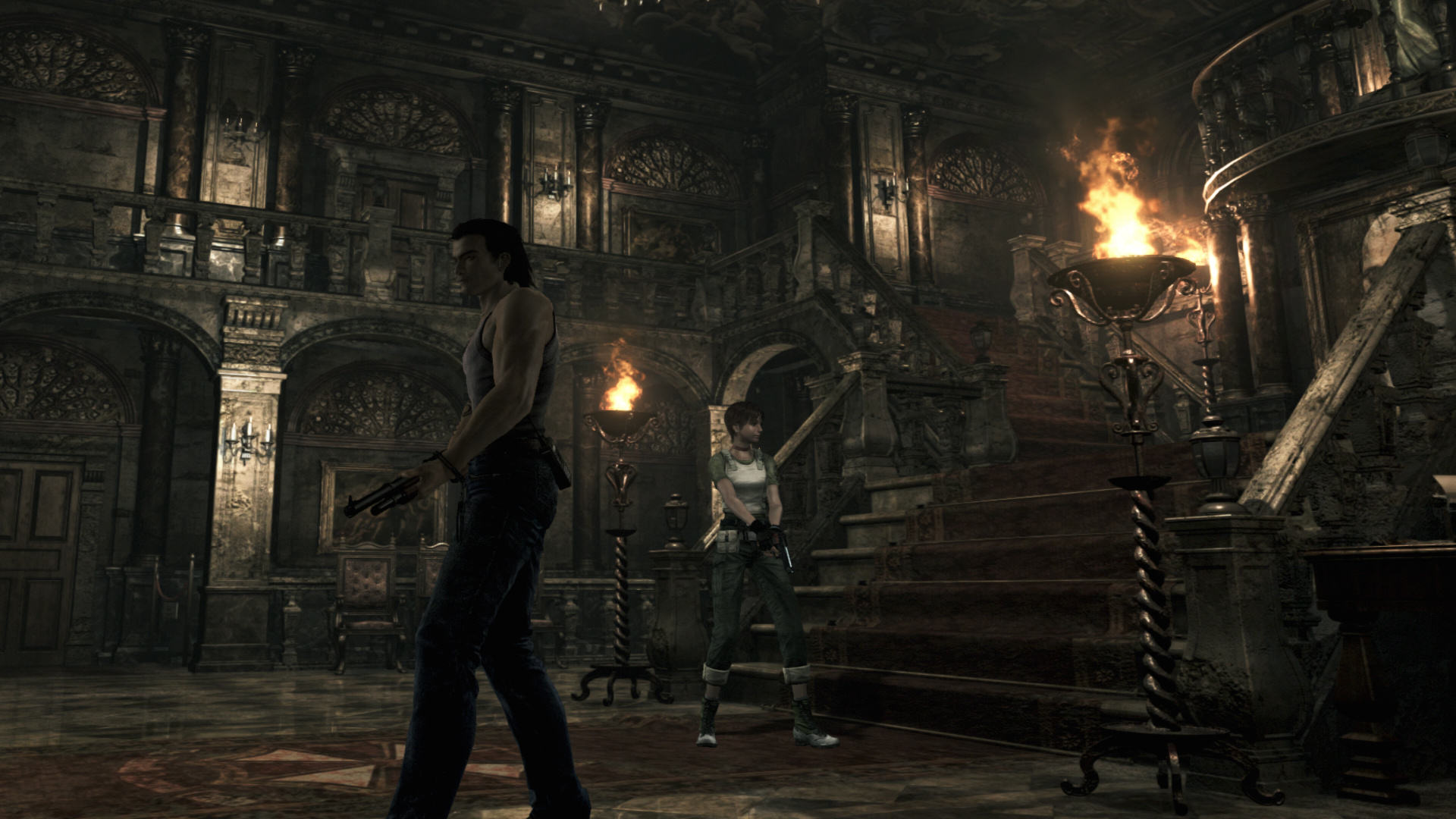 RE0 Review 0006 1452532990 Resident Evil 0 HD Is A Welcome Reminder Of The Series Roots