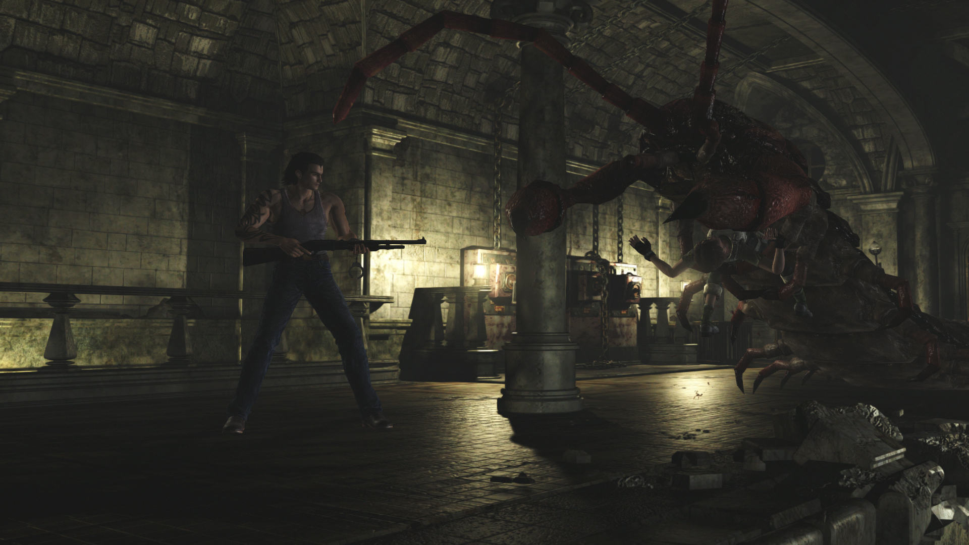 RE0 Review 0008 1452532991 Resident Evil 0 HD Is A Welcome Reminder Of The Series Roots