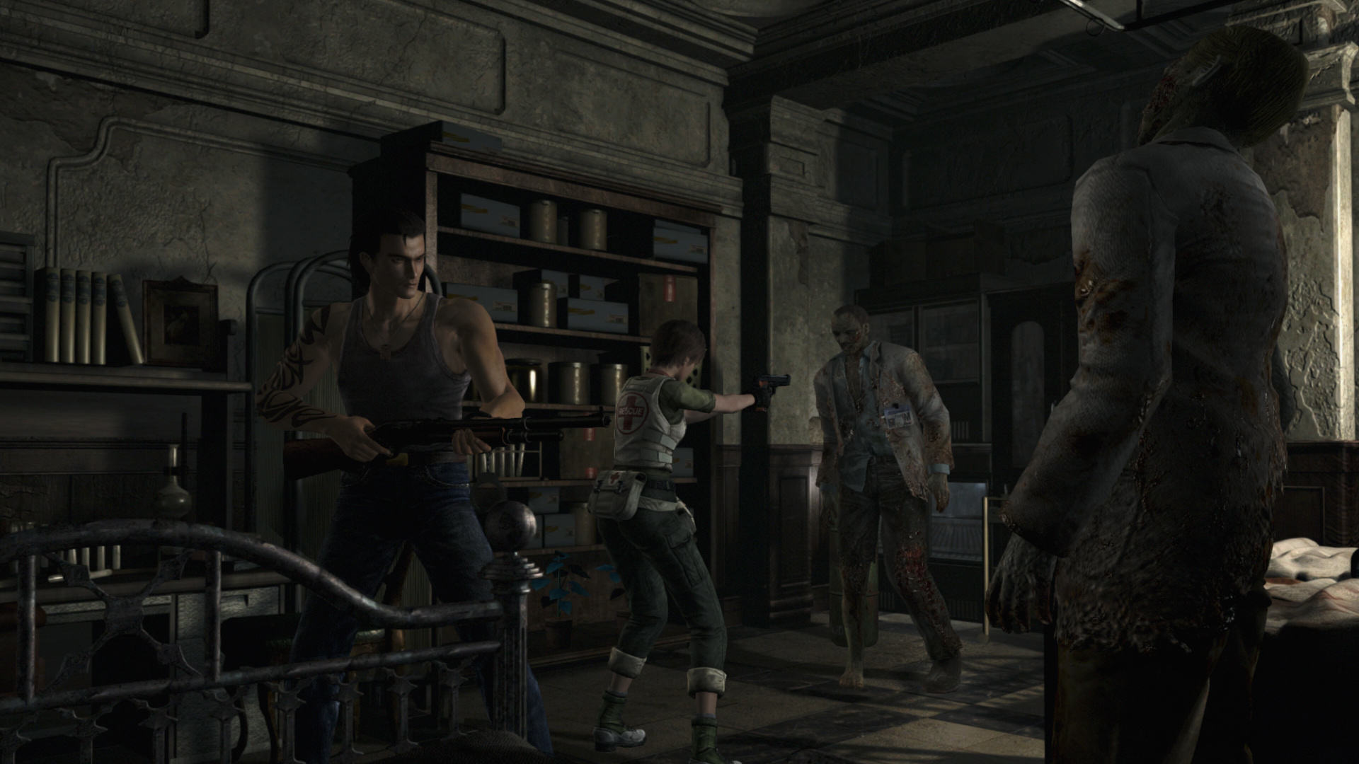 RE0 Review 0010 1452532992 Resident Evil 0 HD Is A Welcome Reminder Of The Series Roots