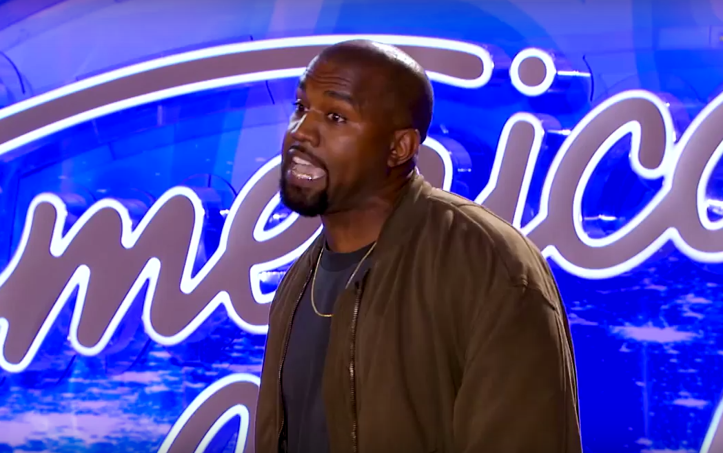 Screen Shot 2016 01 05 at 18.23.21 Watch As Kanye West Auditions For Final Season Of American Idol