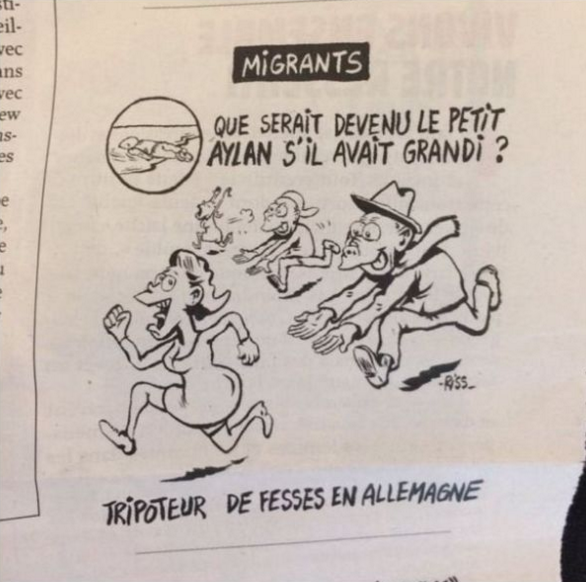 Screen Shot 2016 01 14 at 12.13.44 This New Charlie Hebdo Cartoon Is Pretty Out Of Order