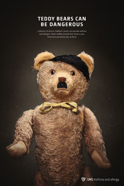 Screen Shot 2016 01 28 at 14.29.43 New Campaign Highlights Danger Of Teddy Bears By Comparing Them To Dictators