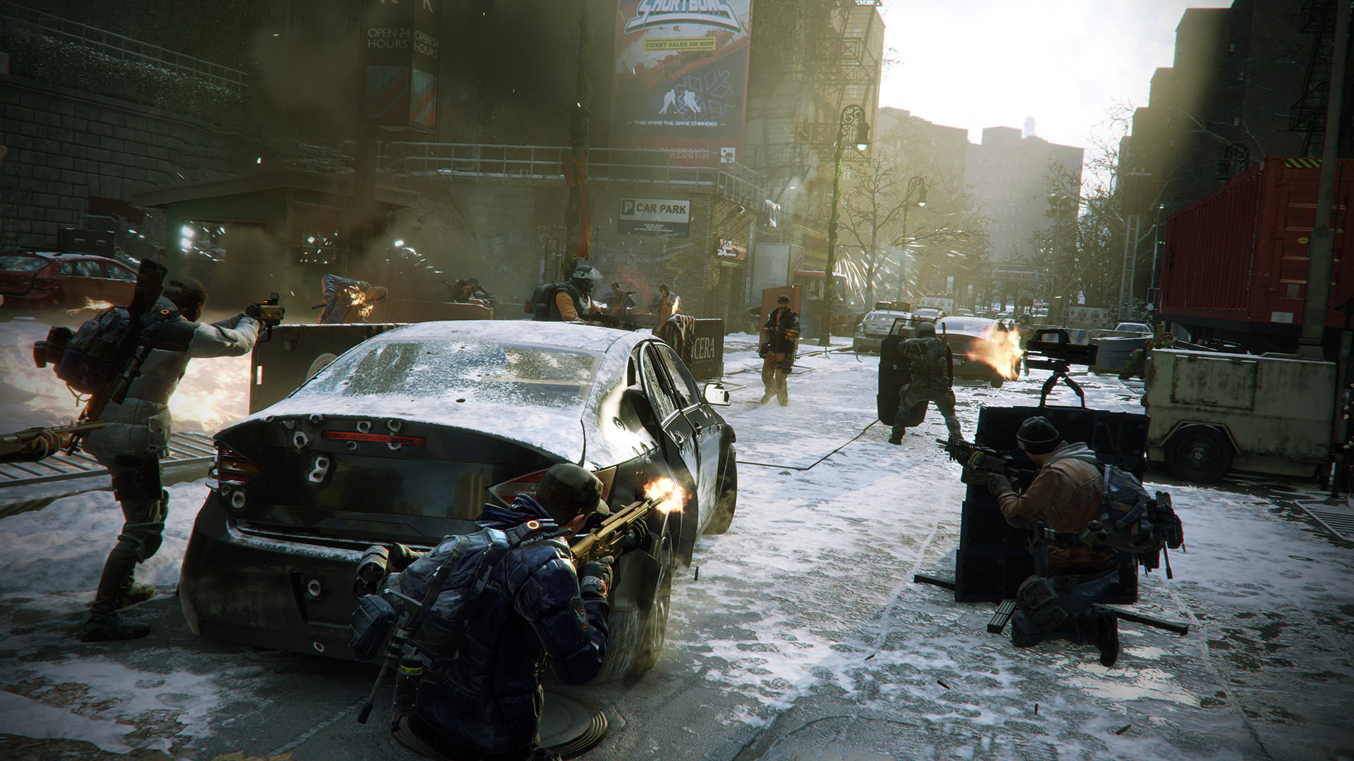 TCTD 1601 web screenshot team street encounter We Had An Exclusive Look At The Division Ahead Of Release Day
